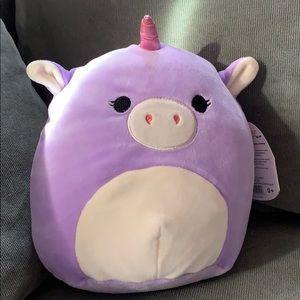 NWT KellyToy Squishmallow Astrid the Unicorn